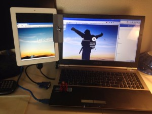 Tablet als zweiter Monitor