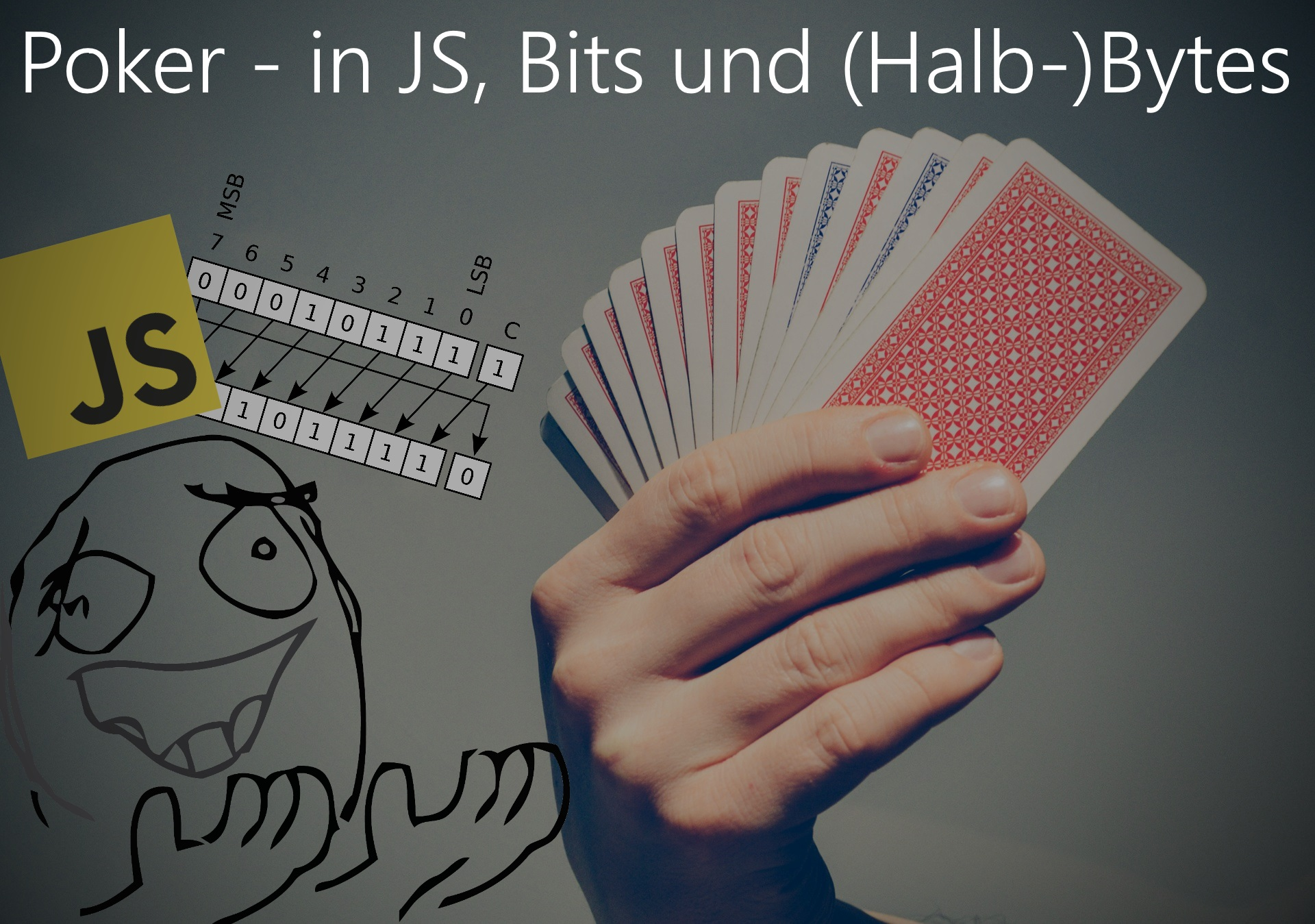 Analyse eines Javascript Poker Hand Evaluators