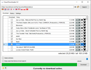 Cloud Downloader 3.0 - file size prediction