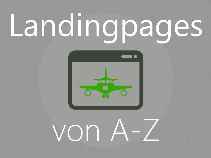 Tutorial: Landingpages von A bis Z