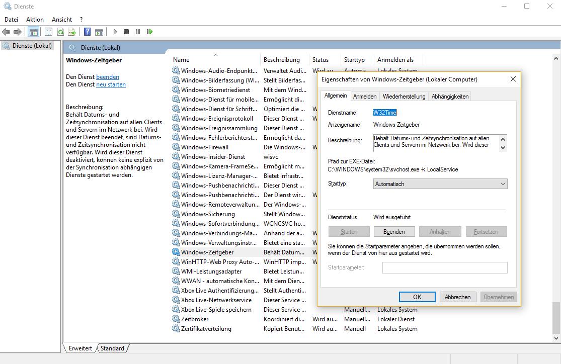 Windows 10: Falsche Uhrzeit korrigieren