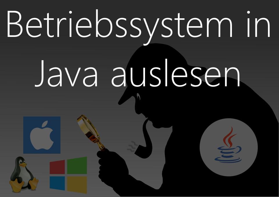 Betriebssystem in Java auslesen