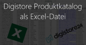 Digistore Excel-Produktkatalog