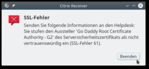 Citrix-SSL-Fehler-61