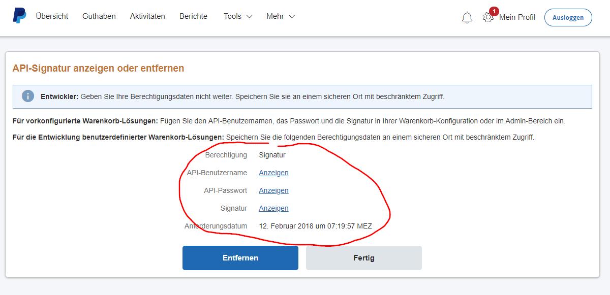 Paypal Kontostand Abfragen