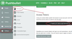 PushbulletAPI-Key