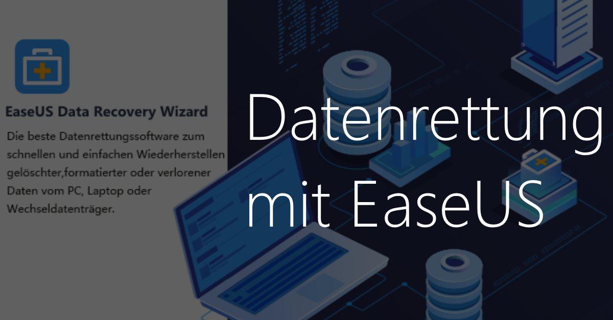 Gelöschte oder verlorene Daten einfach wiederherstellen – mit EaseUS Data Recovery Wizard kann es jeder